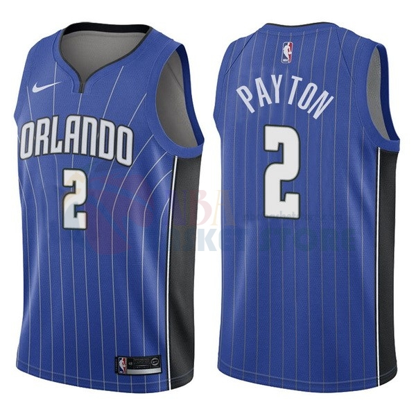 Maillot NBA Orlando Magic NO.2 Elfrid Payton Bleu Icon 2017-18