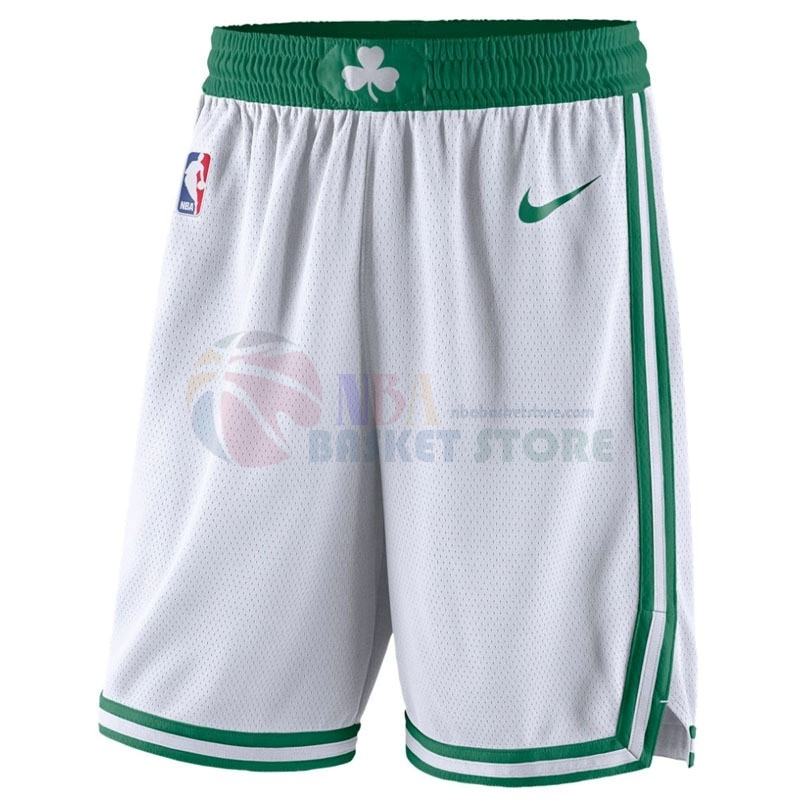 Pantalon Basket Boston Celtics Nike Blanc