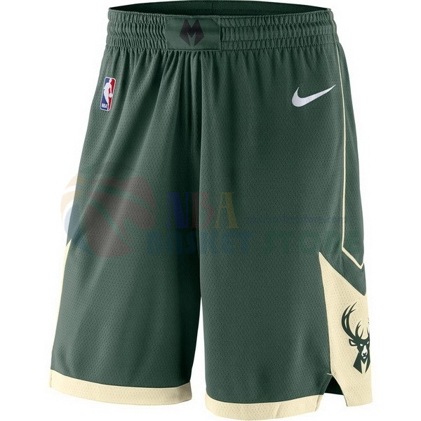 Pantalon Basket Milwaukee Bucks Nike Vert
