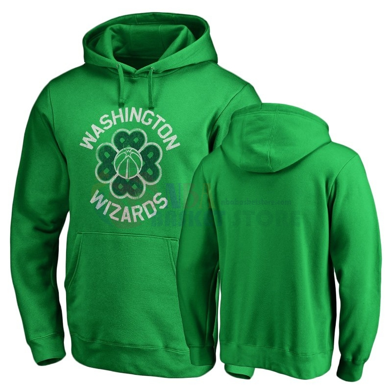 Hoodies NBA Washington Wizards Vert