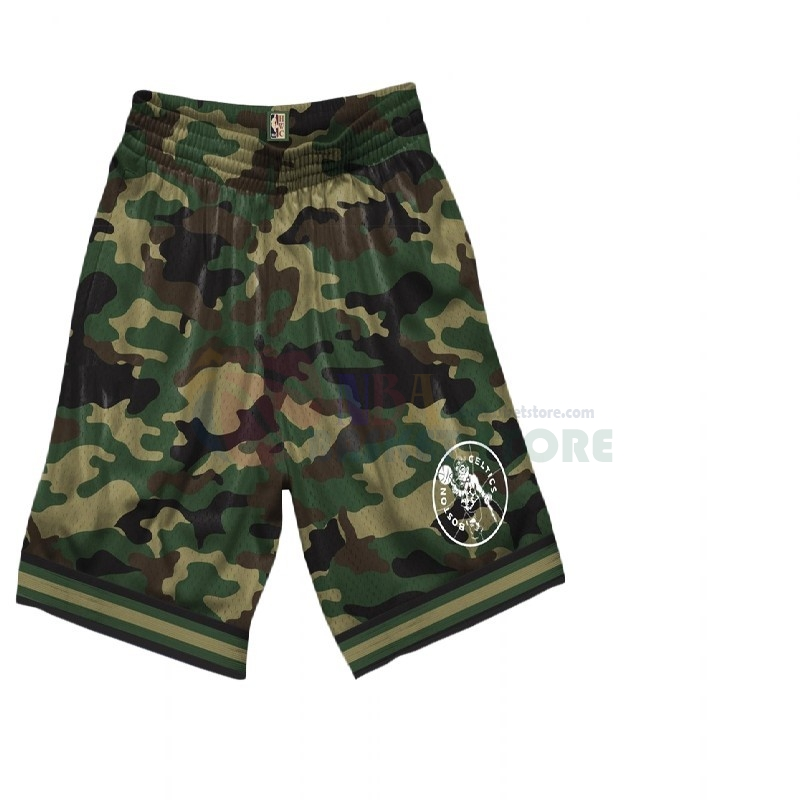 Pantalon Basket Boston Celtics Camouflage