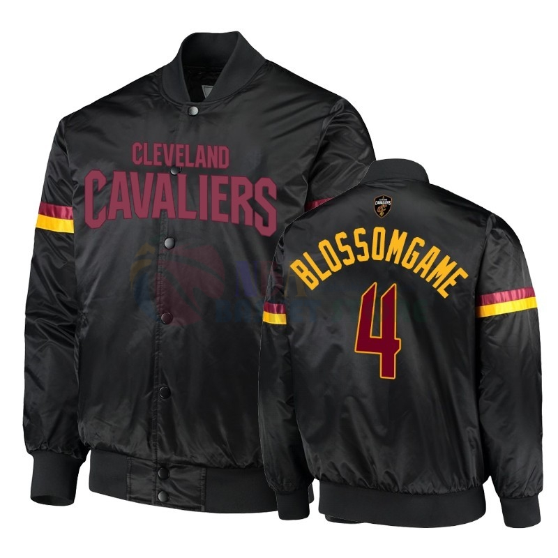 Survetement NBA Cleveland Cavaliers NO.4 Jaron Blossmgame Noir