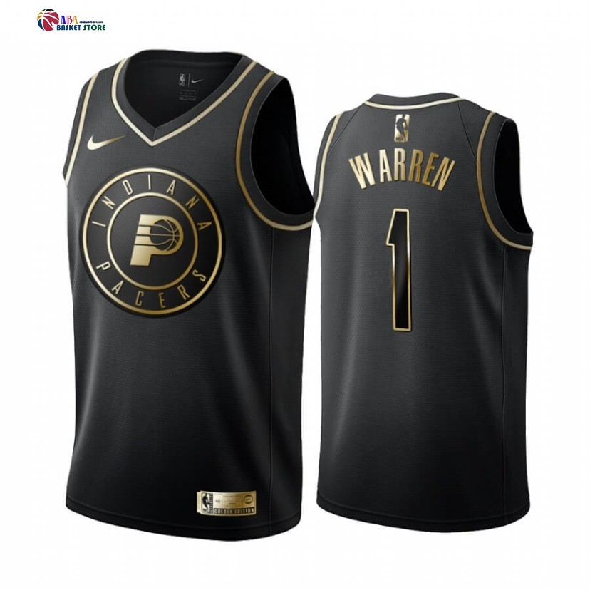 Maillot NBA Nike Indiana Pacers NO.1 T.J. Warren Or Edition
