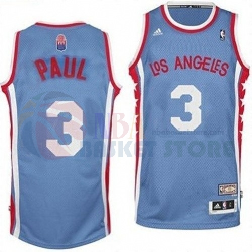 Maillo ABA Los Angeles Clippers NO.3 Paul Gris