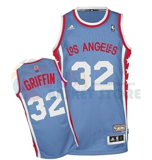 Maillo ABA Los Angeles Clippers NO.32 Griffin Gris