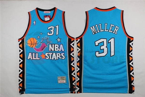 Maillot NBA 1996 All Star NO.31 Andre Miller Bleu