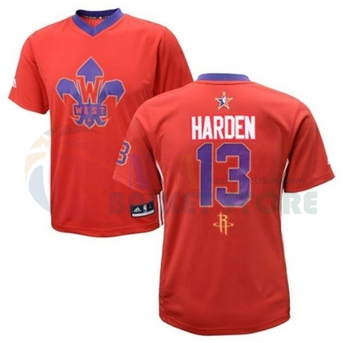 Maillot NBA 2014 All Star NO.13 James Harden Rouge