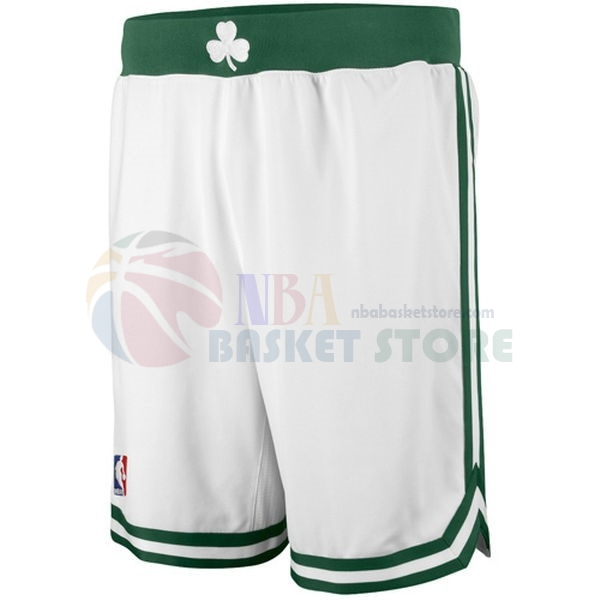 Pantalon Basket Boston Celtics Blanc
